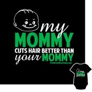 Your child is the apple of your eye, and we know they just adore their stylist Mommy too. Available at behindthechair.com/shop, $19.95