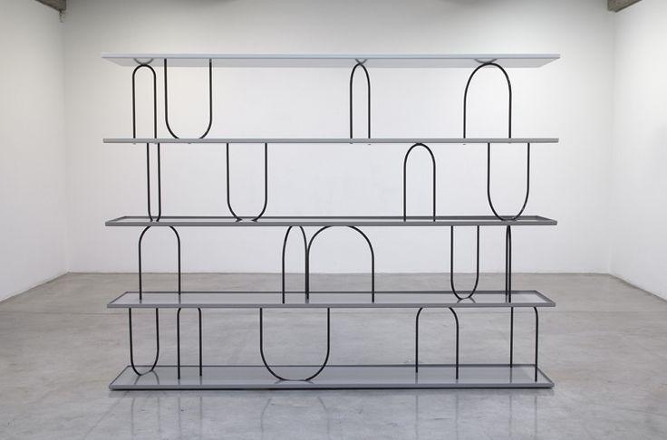 Wasserregal Bookcase, Nicole Wermers