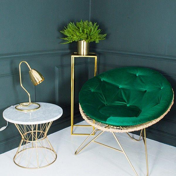 86 besten messing beistelltisch bilder auf pinterest for Luxus designer sessel