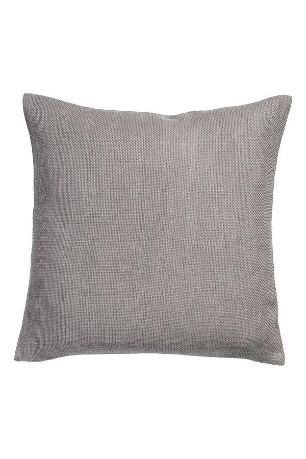 Textured Weave Cushion Cover Gray H M Home H M Us Kissenhullen Kissen Muster