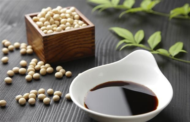 First made in the 2nd century BCE Asia, Soy Sauce is a condiment made from a fermented paste of soybeans. It's known for its richly satisfying flavor known as Umami.