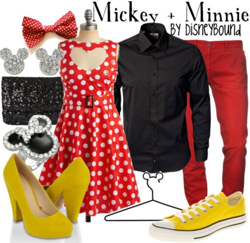 I can't wait for costume party.. have had an idea of Mickey and Minnie for some time now...
