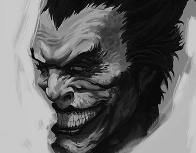 """Check out new work on my @Behance portfolio: """"Joker"""" http://be.net/gallery/47767759/Joker"""