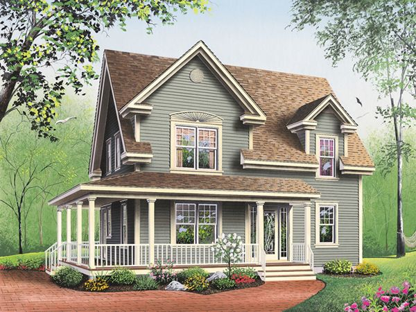 Small Farmhouse Plans With Porches