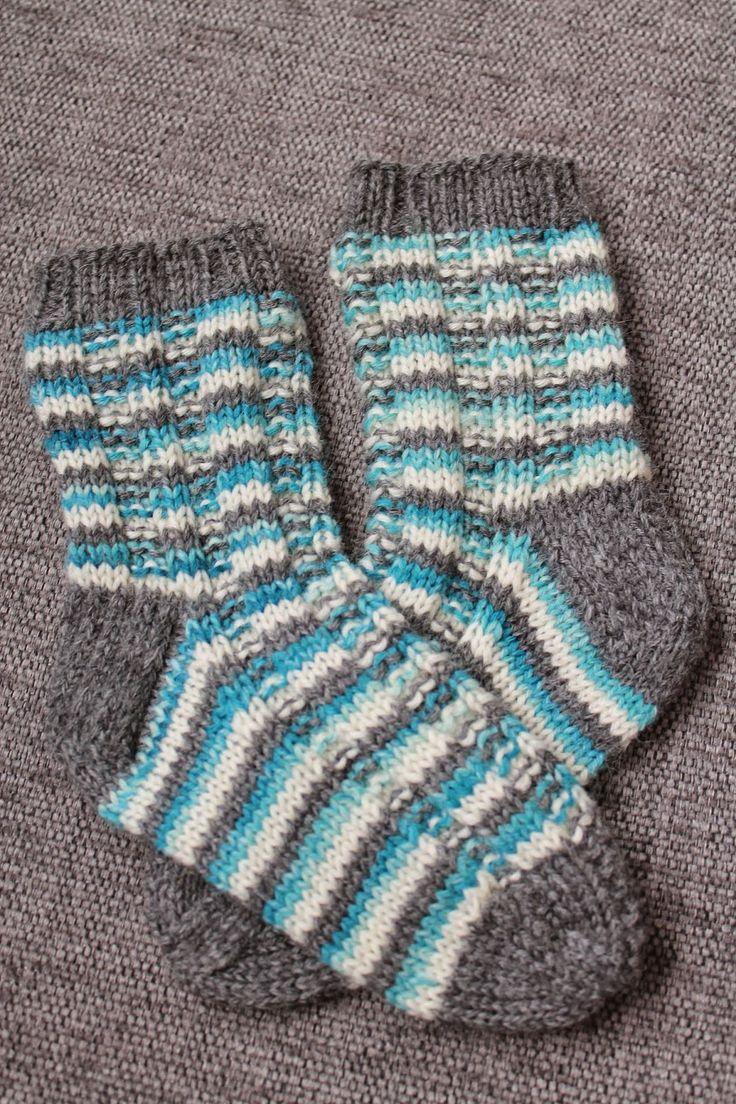 Maja strikker: sokker