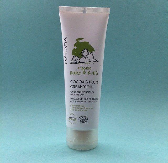 Mádara Baby Cocoa & Plum Creamy Oil 85 ml (www.payas.dk)