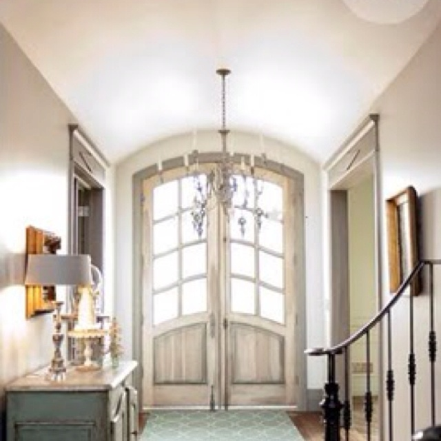 Convert entry door to a double?Decor, Entry Way, The Doors, Entry Doors, Interiors, Front Doors, House, Homes, Entryway