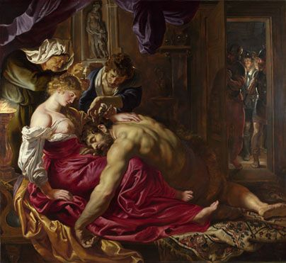 Peter Paul Rubens: 'Samson and Delilah' © The National Gallery, London