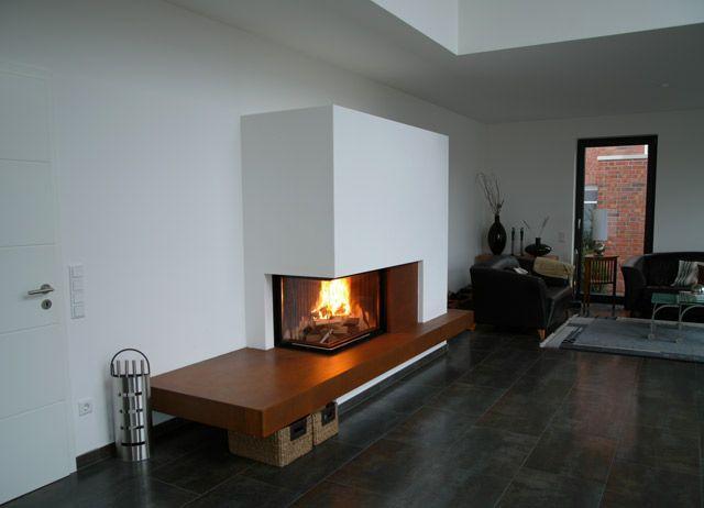 Hörnkaminer, visar elden på ett storslaget och modernt sätt | JP Walther AB