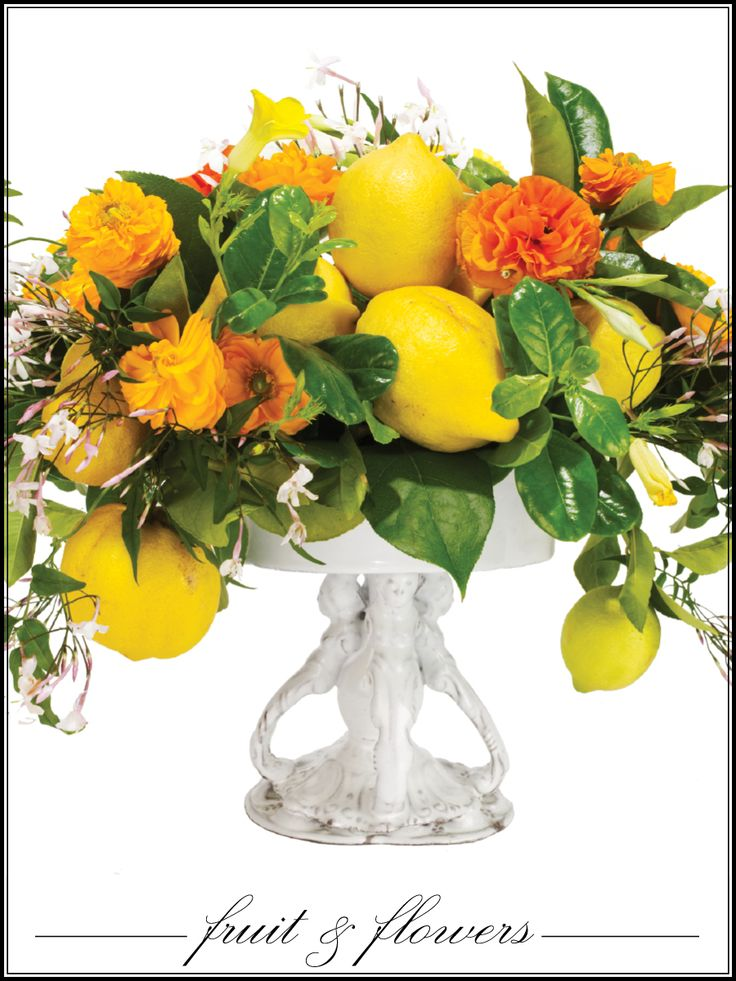 Fruit filled arrangement floral bouqets pinterest Floral arrangements with fruit