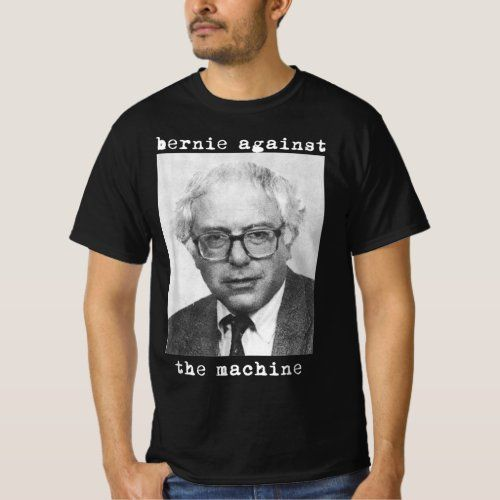 Bernie Sanders 2020 Against The Machine Punk Rock T Shirt Ro