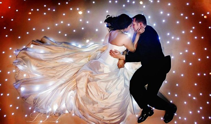 STARLITE DANCE FLOOR WHITE ORANGE AMBER