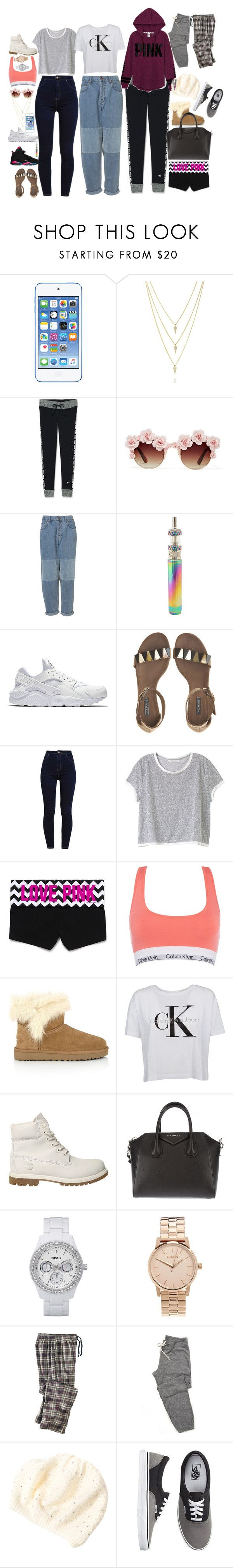 """""""What I feel like buying today"""" by selinalindroth ❤ liked on Polyvore featuring Retrò, Victoria's Secret, Gasoline Glamour, NIKE, Vic Matié, Calvin Klein, UGG, Timberland, Givenchy and FOSSIL"""
