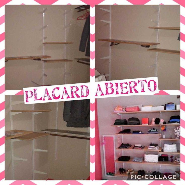 Placard habitacion Agus ,con inspiracion en pinterest