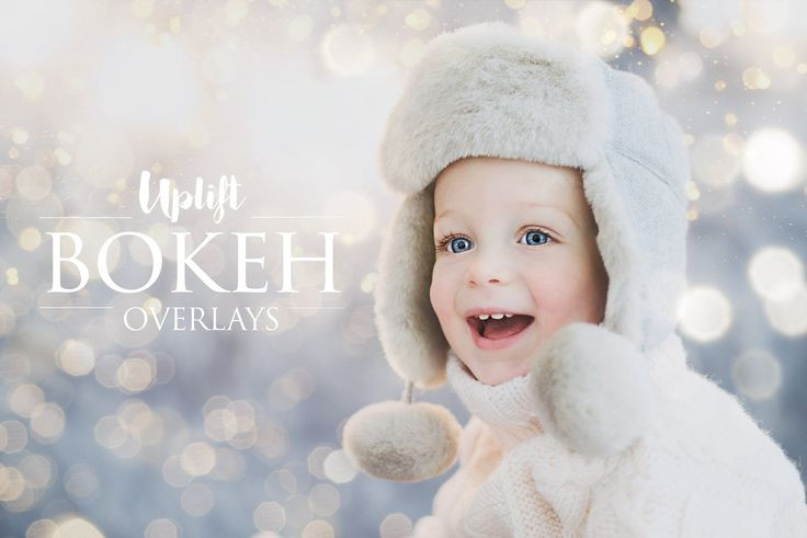 Bokeh Overlays for Photoshop by Uplift Actions on @creativemarket