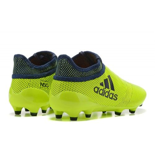 X 17.3 SG, Chaussures de Football Entrainement Homme, Multicolore (Solar Yellow/Legend Ink/Legend Ink), 42 EUadidas