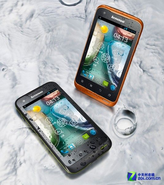 Lenovo A660: Waterproof, dust-proof, dual-SIM, Android 4.0