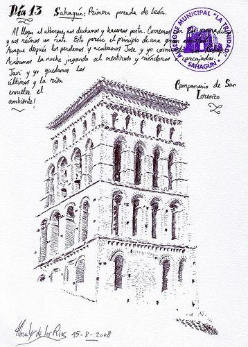 DÍA 13: SAHAGÚN. Campanario de San Lorenzo | por Morales de los Ríos