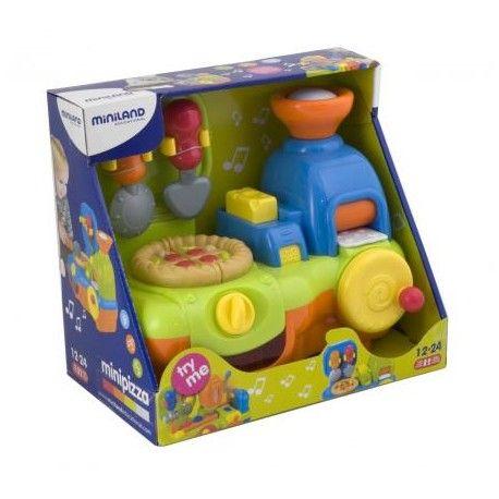 Recomendado para crianças dos 12 aos 24 meses. Brincar e Aprender. Brinquedos Didácticos para Crianças. http://www.planetadidactico.com/home/116-mini-pizzaria.html