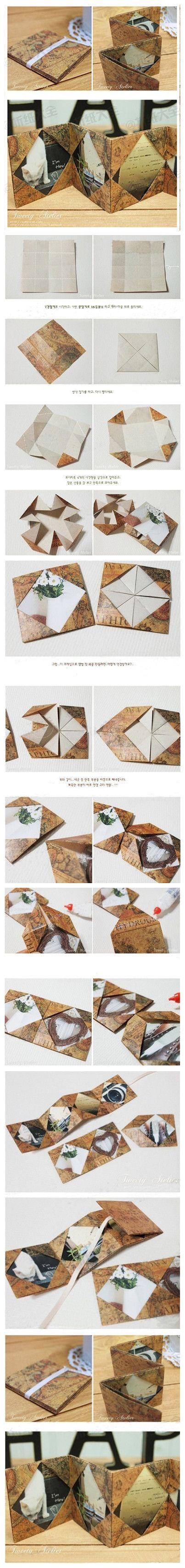 复古感十足的的折叠相册