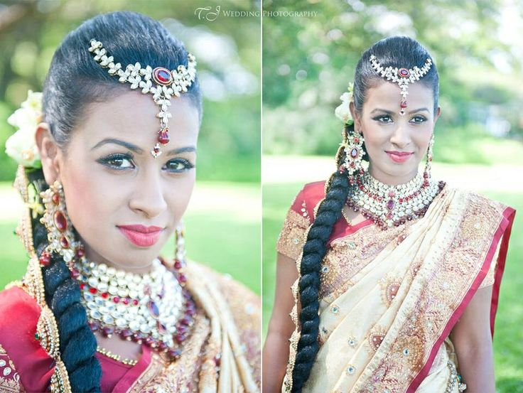 Contemporary South Indian wedding look