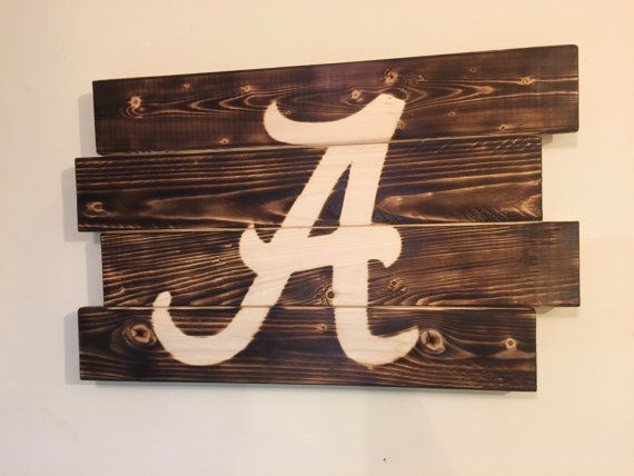 Small University of Alabama football man by MonogramedMemories