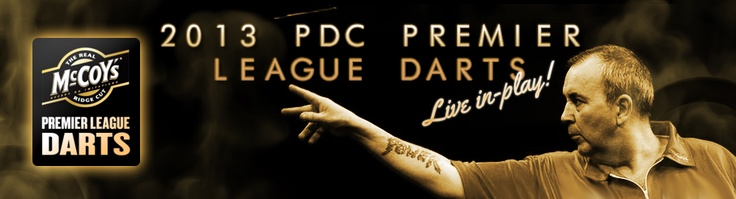 Live in Play PDC Premier League Darts Punting.