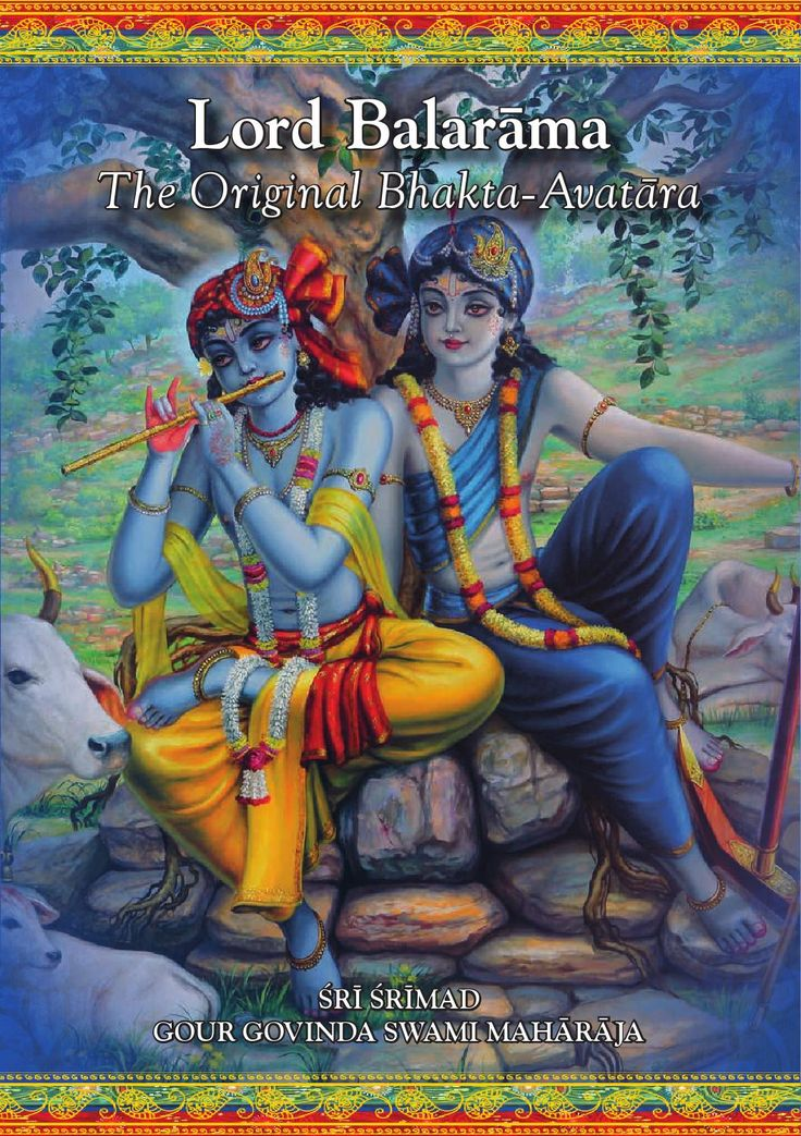 ISSUU - Lord Balarāma   The Original Bhakta-Avatāra by Tattva Vicara Publications