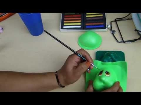 Tutorial Tortuga de Foamy con Moldes Regalo especial - YouTube