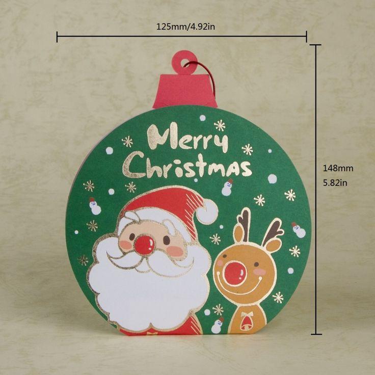 Купить товарРождеством карты 3D мультфильм санта клаус оленей новогодних поздравительных открыток с красный конверт SX01529 в категории Поздравительные открыткина AliExpress.      Материал: Высококачественная бумага          Размер: 12.5 см/4.92in * 14.8 см/5.82in          Внутренний лист: нет
