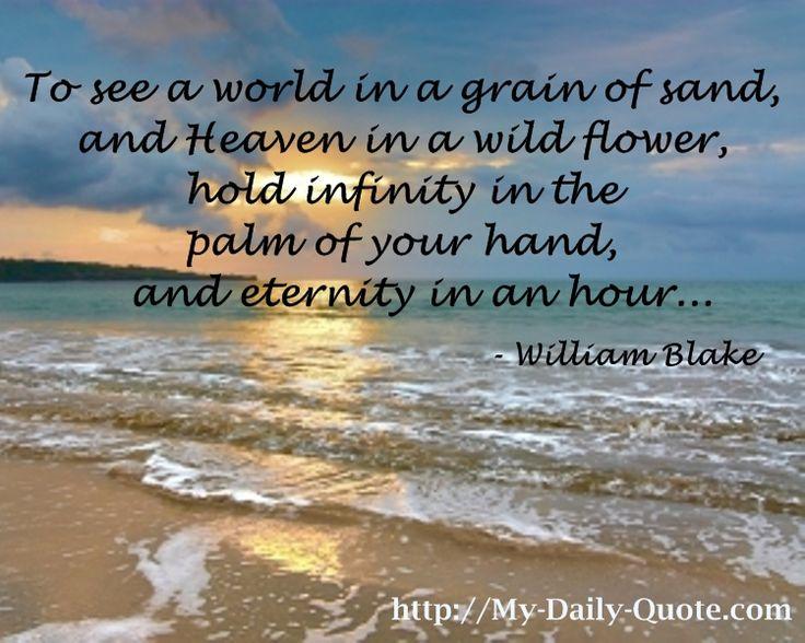 Infinity... #quotes #inspiration #williamblake #dailyquote