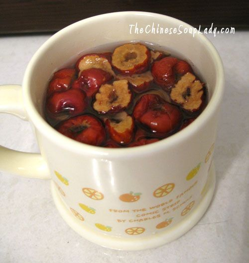 ...::Post-cycle Rejuvenating Red Date Tea::... Great source of Vitamin C, helps maintain healthy blood pressure, aids in restoring body after blood loss.  Add ginger to this recipe to increase blood flow and circulation!