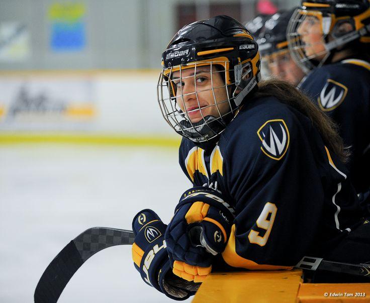 Candace Kourounis, 2012-13 Women's Hockey, Credit: Edwin Tam
