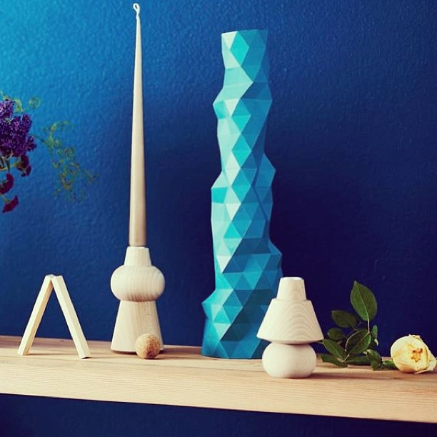 Helgo Astack Candle Holder featured in Inside Out Magazine styled by Vanessa Colyer Tay