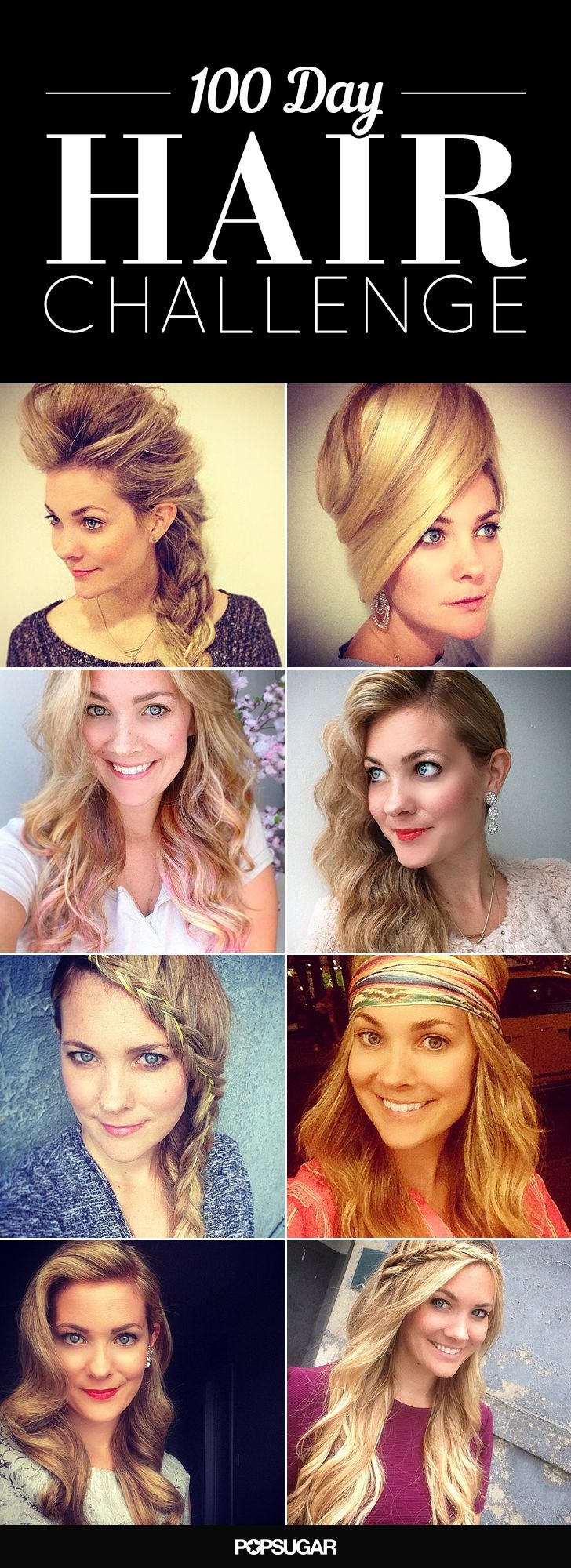 #100DayHair challenge: braids, waves, and more!
