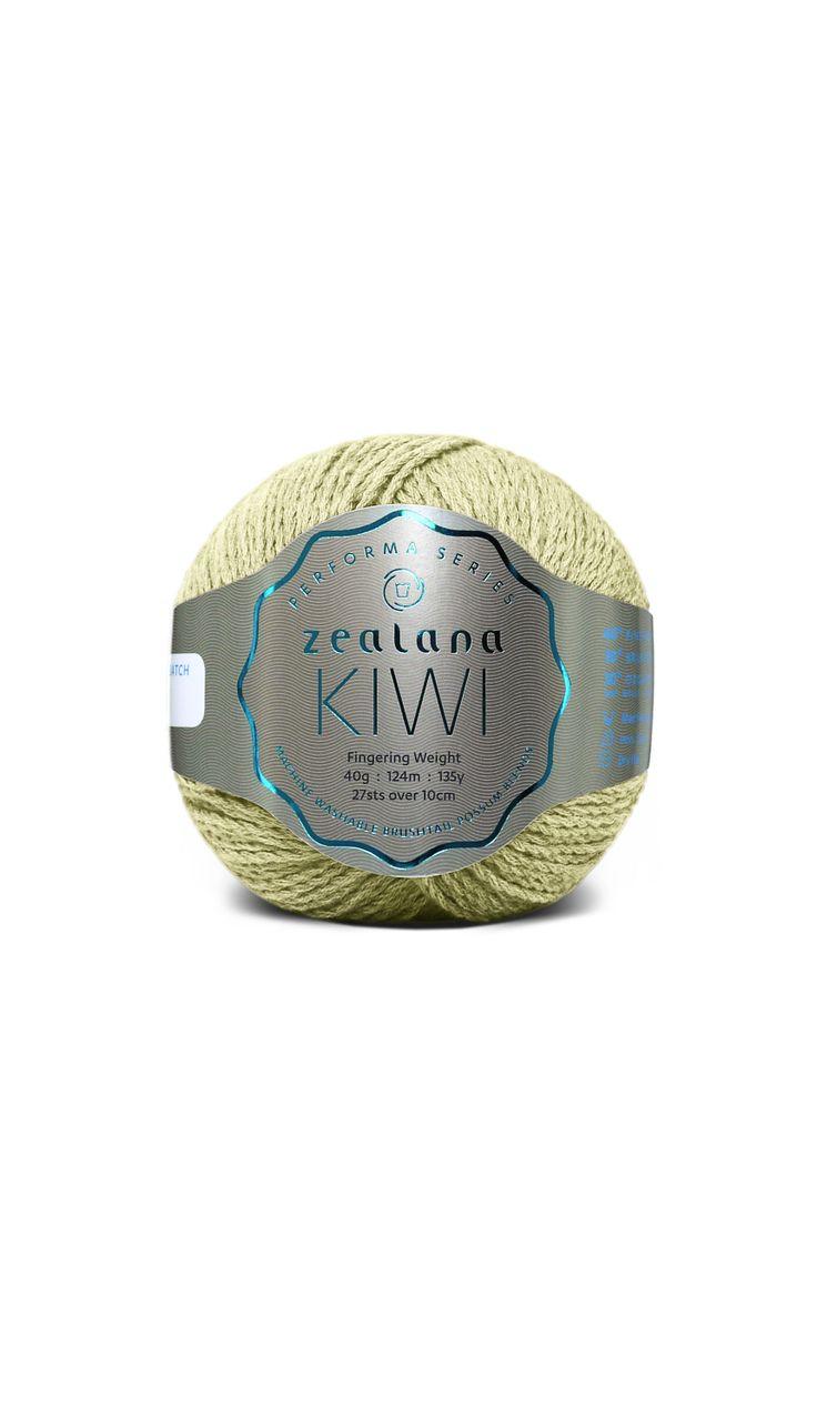 Zealana Kiwi Fingering 12 Wild Lime