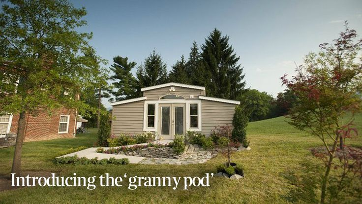 13 best images about granny pod on pinterest company for Small houses for seniors