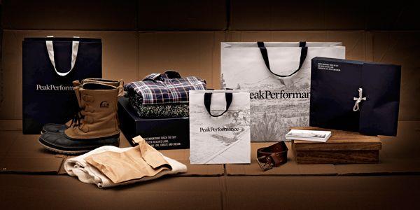 In-store material for Peak Performance.