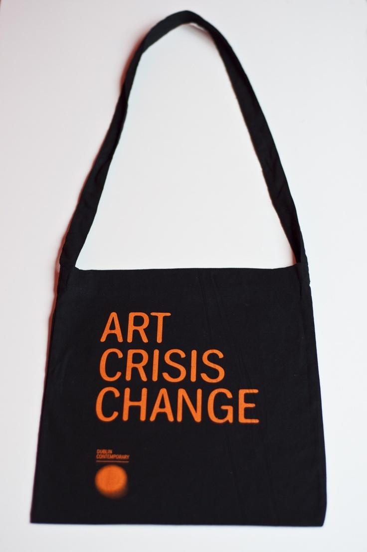 Art Crisis Change Bag - Black