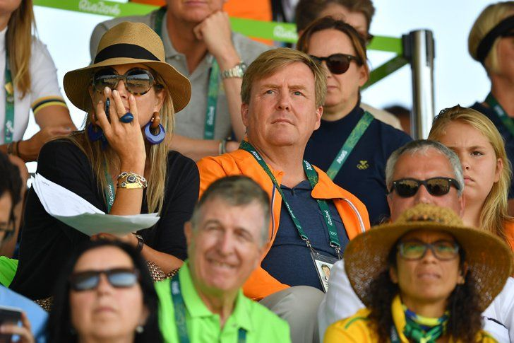 Pin for Later: Queen Máxima's Rio 2016 Style Motto: the More Accessories, the Better