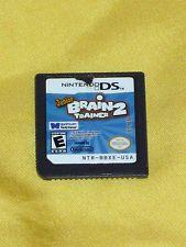 Junior Brain Trainer 2 - Nintendo DS DSi 3DS Video Game GAME ONLY no case/book