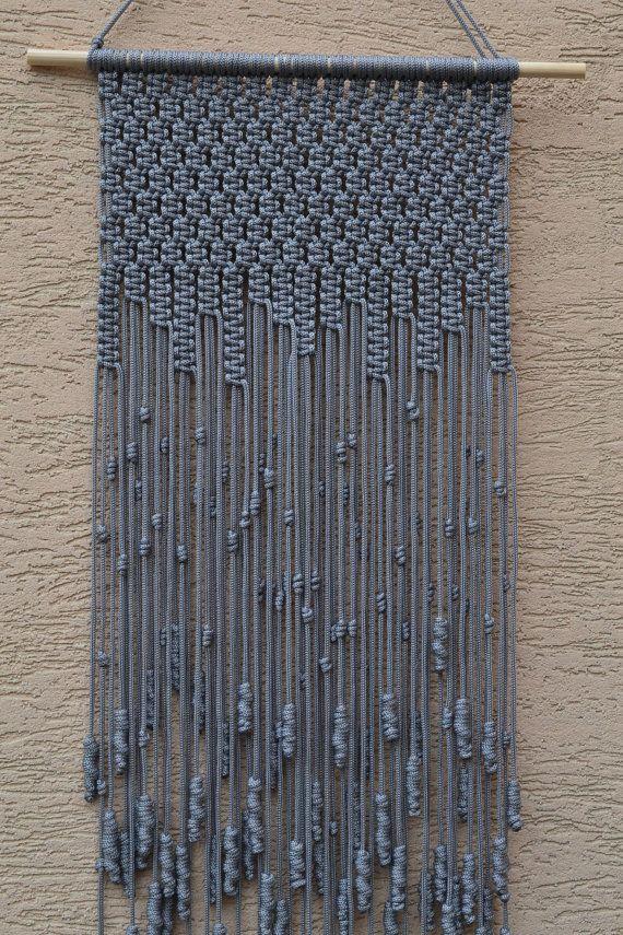 Casa Macrame decorativos del colgante de pared B01NATFXHY