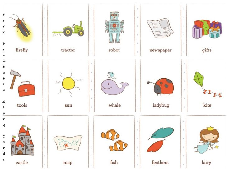 Free Printable Story Cards