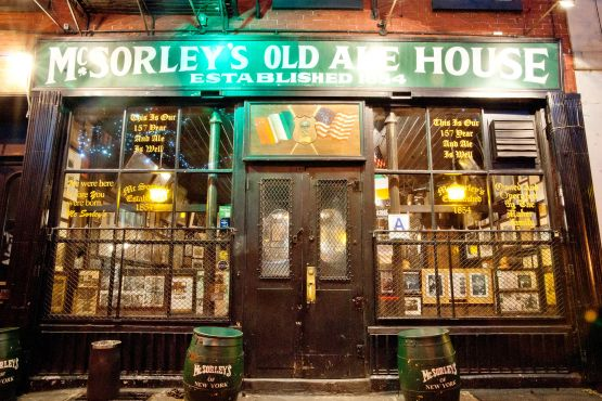 McSorley's Old Ale House | 15 E 7th St. The best bar in NYC.