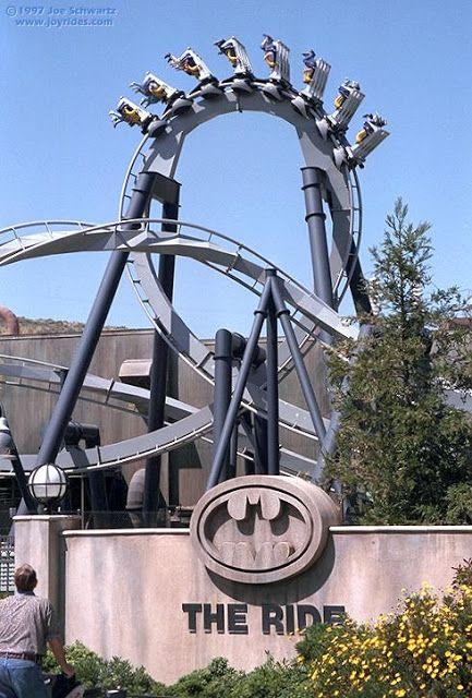 Batman: The Ride. Six Flags Great Adventure | Jackson, NJ