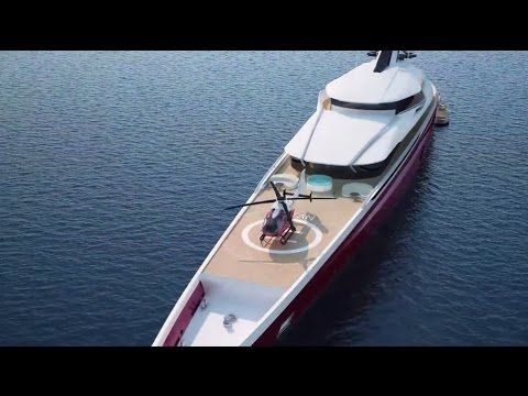 Best Design Concept Images On Pinterest Boats Yacht - Giga yacht takes luxury oil tanker sized extreme