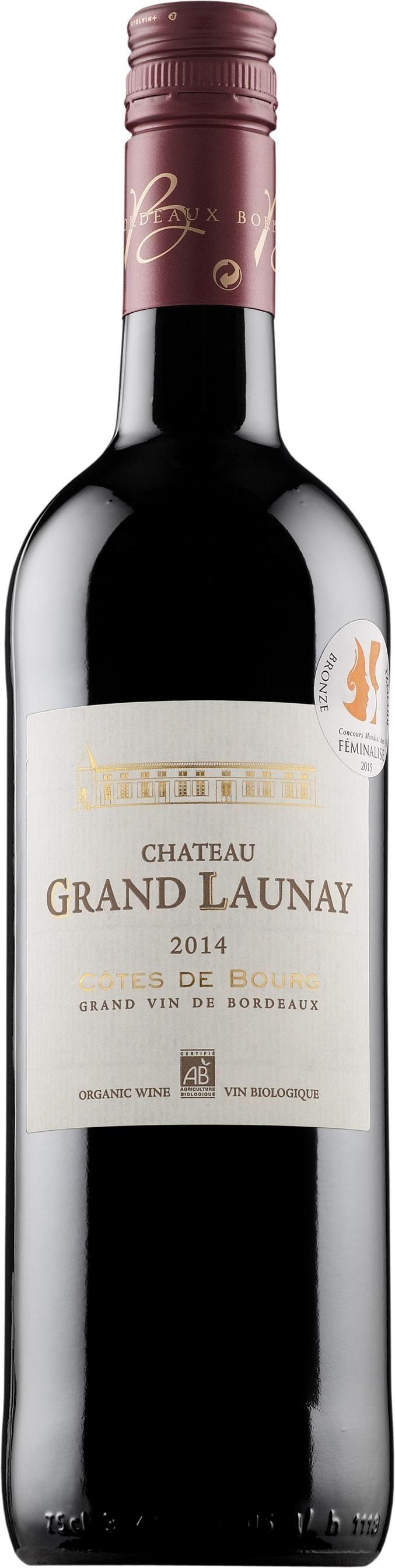 Château Grand Launay 2015. France: Merlot, Malbec. 11,87 €. Vivahteikas ja kehittynyt: Täyteläinen, erittäin tanniininen, hapankirsikkainen, kypsän karpaloinen, mausteinen, kevyen tamminen