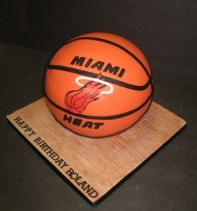 miami heat birthday cake photos | MiamiHeat
