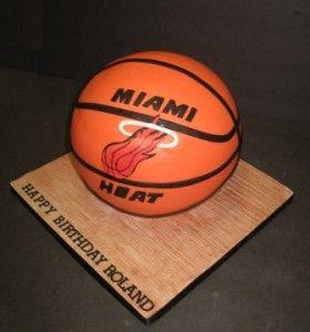 miami heat birthday cake photos | MiamiHeat