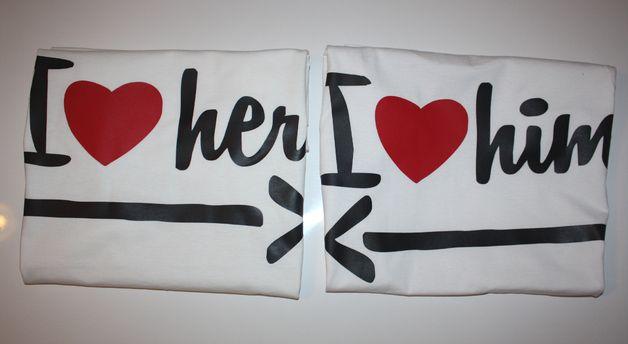 #dawandawalentynki. T-shirty 2 SZTUKI dla ZAKOCHANYCH LOVE - high-for-this - Koszulki z napisami